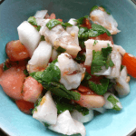 A light lunch or an exotic appetizer - Simple Ceviche!