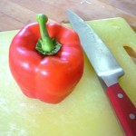 Required: 1 Bell Pepper, 1 Knife