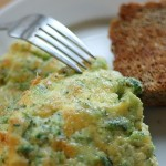 Dinner in 15 minutes: Broccoli and Cheese Frittata