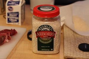 Take 1 cup arborio rice.