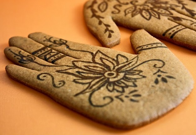 Mehndi Cookies from Sprinkle Bakes