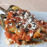 stuffed poblanos - teenie cakes