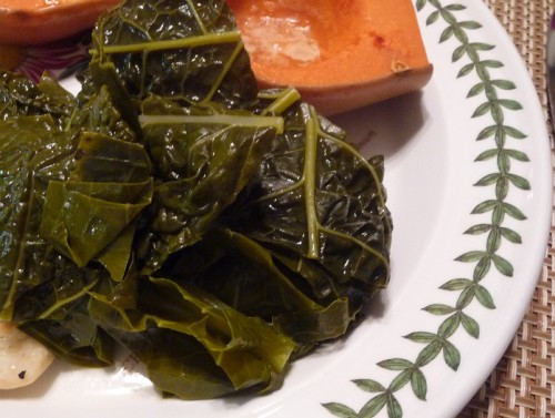 Collards cooked