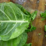 Collards prep