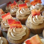 Bacon! Bacon + Cupcake = Yum!