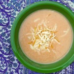 Carrot Vichyssoisse (or in Kid-Friendly Terms, 