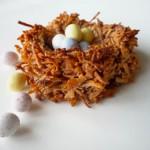 Birds Nest Macaroons for Easter!