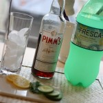 Ingredients:  Pimm&#039;s No. 1 Cup, Fresca, Sliced Lemon, Sliced Cucumber, Fresh Mint