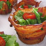 Bacon cups from Not Martha