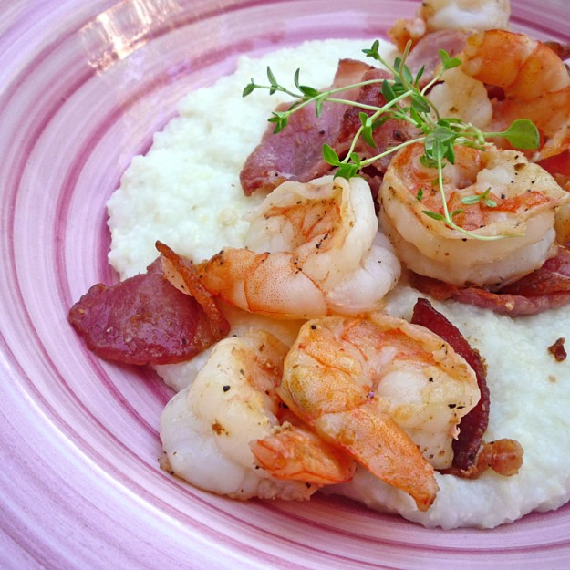 Quick and Elegant Shrimp and Grits