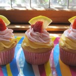 may-cupkins-strawberry-lemonade cupcakes
