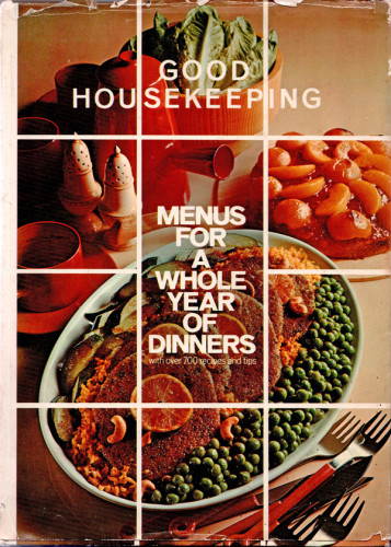 cookbook - Menus for a whole year of dinners, 1971