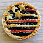 Scrambled Hen Fruit brings us another kid friendly idea -  I want these  Patriotic Mini Pies!