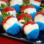 Red, White & Blue Strawberries