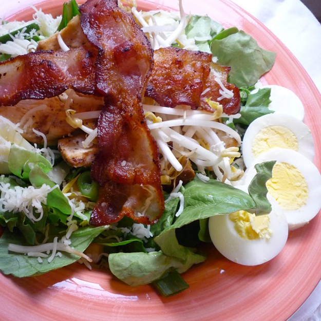 Quick Dinner Idea: The Bacon Dinner Salad