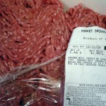 1 large package of ground beef