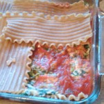 Quick and Easy Spinach Lasagna