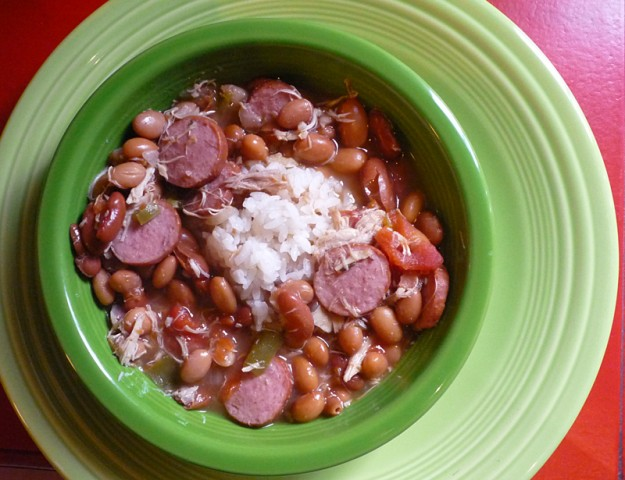 Pinto Bean and Sausage Soup