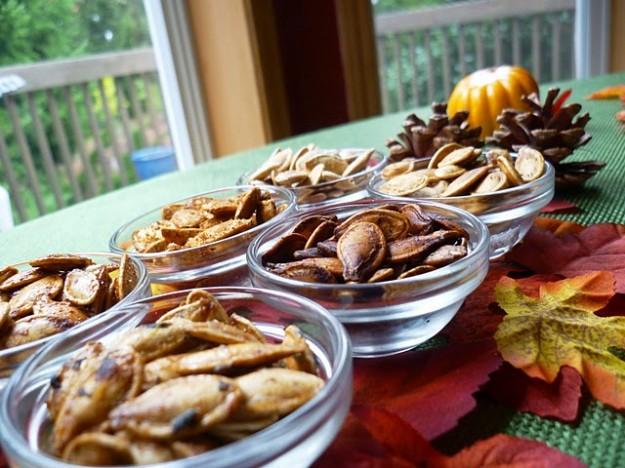 seasonings for pumpkin seeds from Drinkwater Kitchen