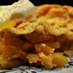 zucchini apple pie slice