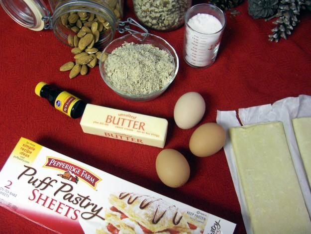 Galette ingredients