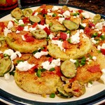 Spicy Bacon Fried Green Tomatoes
