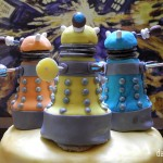 How to make a Dr. Who Dalek Cake