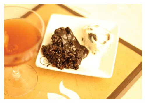 double chocolate fudge cake6