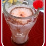 Strawberry Banana Yogurt Frappe