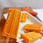 Carrot Cake and Almond Butter Popsicles