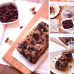 Chocolate Cranberry and Walnut Focaccia