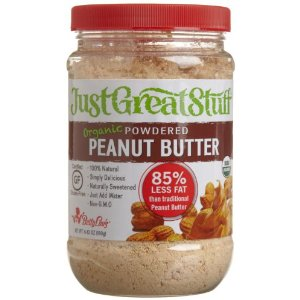 powdered peanut butter is a great 'cheat' for quicky peanut sauce.