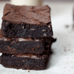 Chocolate Brownies with Walnuts (Vegan & Gluten Free!)