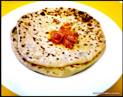 ricotta cheese paranthas