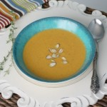 Roasted Carrot and Cauliflower Soup