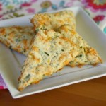 Broccoli, Cheddar & Chive Scones