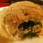 Gluten Free Chicken Kiev with Tarragon Butter