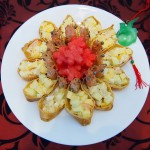 Chinese New Year Inari Age Laughing Prawns Salad