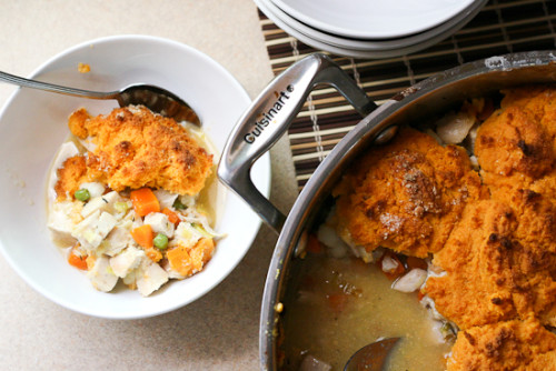 Paleo chicken pot pie from Perry's Plate