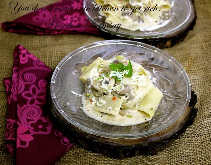Leek mushroom pasta recipes