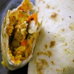Cajun Rice and Grilled Chicken Burrito