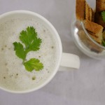 Cream of Garlic Soup