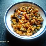 aubergine-chickpea-palya