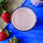 Strawberry smoothie-1
