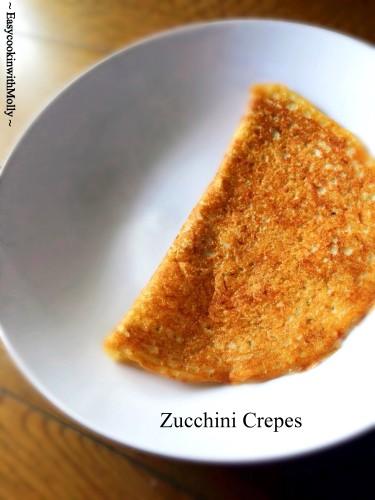 Zucchini Crepe