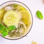 Minty Cucumber Agua Fresca