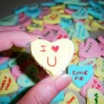 homemade valentine hearts