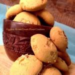 Eggless Besan Gram Flour Cookies