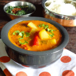 Chow Chow Poricha Kuzhambhu Chayote Squash