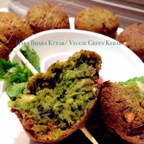 Hara Bhara Kebab Green Veggie kebab